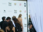 Taylor Swift on the white carpet