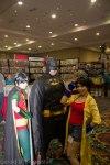 Robin, Batman, and Jubilee