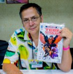 Scott Lobdell, writer of Teen Titans, Red Hood and the Outlaws, and Superman