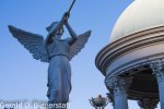 Statue of Angel Blowing Trumpet at Caesars Palace