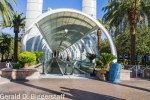 Entrance to the strip monorail at Bally's