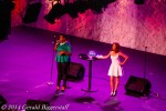Alex Newell and Andrea McArdle (First Annie on Broadway)