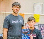 Joseph A. Michael (Creator/ Writer of Only Human) and National Young Artist Cover Competition winner, Casey Noah Ha