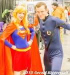 Supergirl and Mr. Fantasic