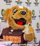 Cleveland Browns mascot, Chomps