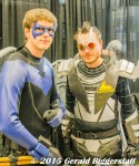 Nightwing and Lexcorp trooper