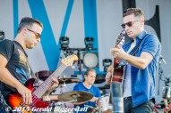 Benj Gershman, Marc Roberge and Chris Culos (O.A.R.)