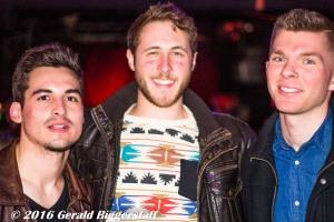 Nick Samson, Stew Weinland and Andrew Gutierrez