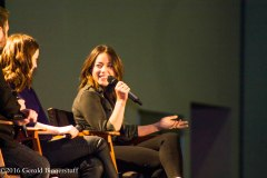Elizabeth Henstridge and Chloe Bennet